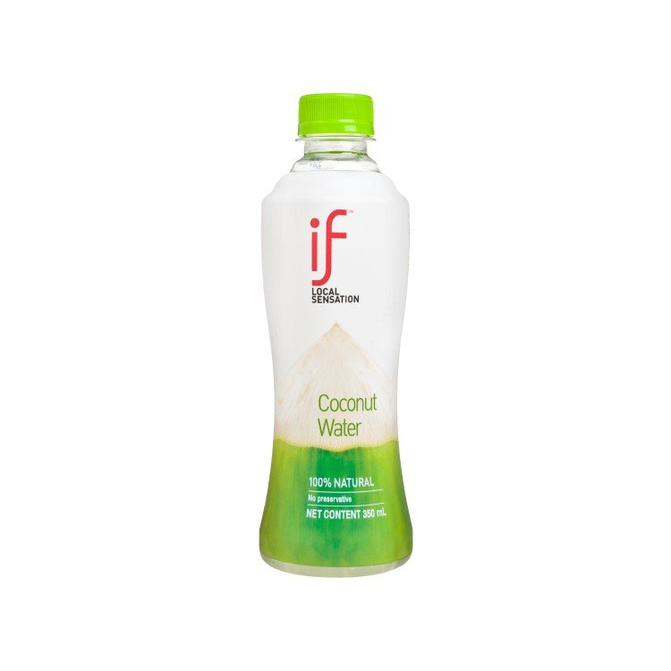 iF - 100% COCONUT WATER - 350ML