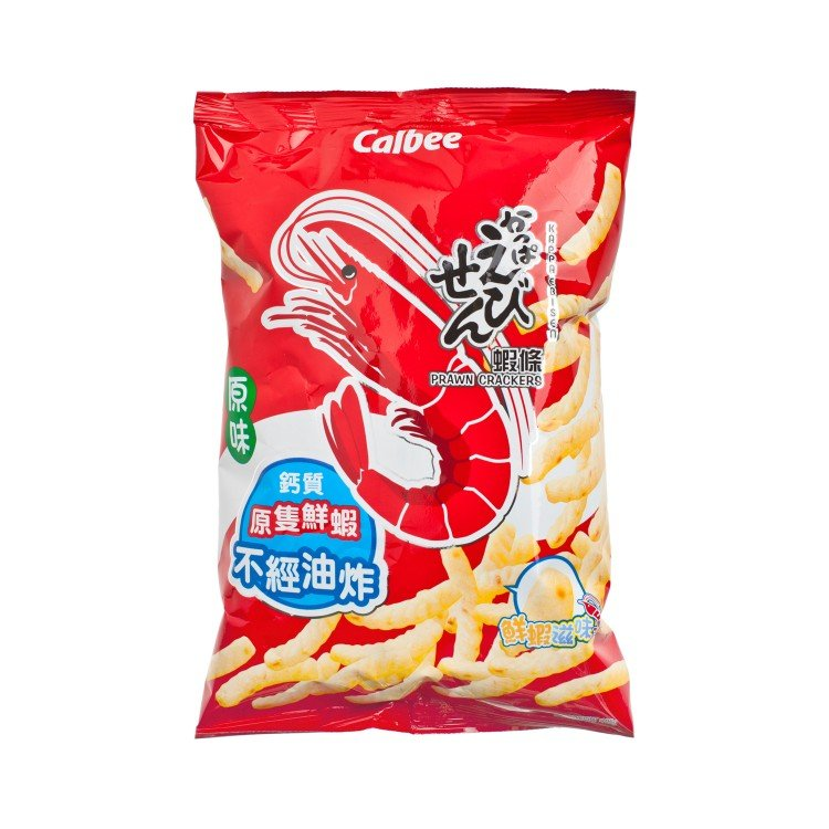CALBEE - PRAWN CRACKERS-ORIGINAL FLAVOUR - 105G