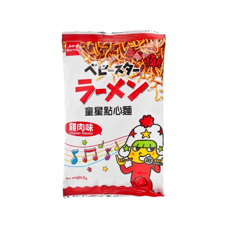 BABY STAR - SNACK NOODLE-CHICKEN FLAVOUR - 45G