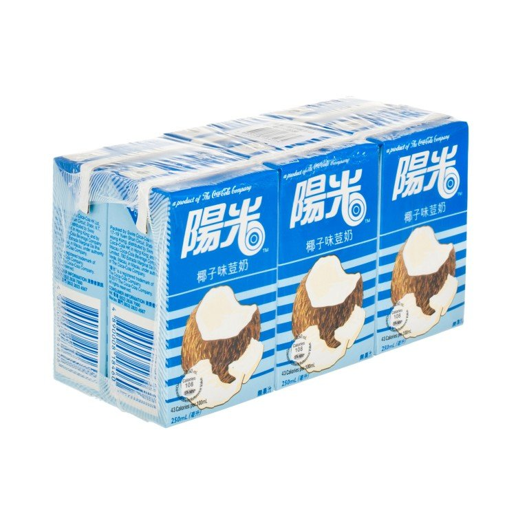 HI-C - COCONUT MILK - 250MLX6