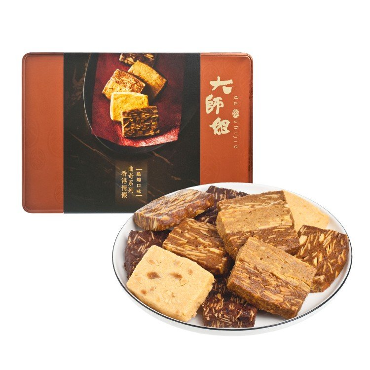 DASHIJIE - IMPRESSIONS OF HONG KONG COOKIES ASSORTMENT (EXPIRY DATE : 30 Oct 2019) - 27'S