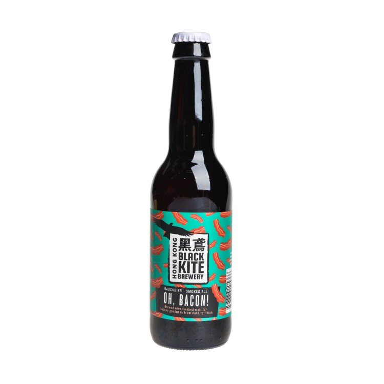 BLACK KITE - OH, BACON - SMOKED ALE (LIMITED EDITION) - 330ML