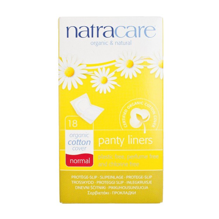 NATRACARE - PANTY LINERS-NORMAL 15CM (INDIVIDUALLY WRAPPED) - 18'S