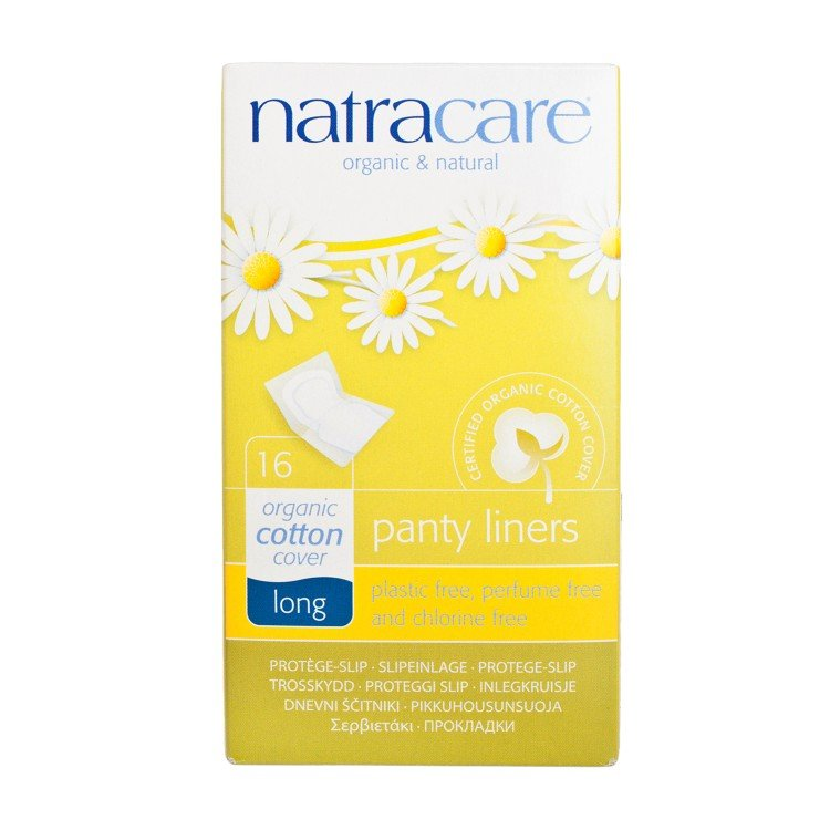 NATRACARE - PANTY LINERS-LONG 18CM (INDIVIDUALLY WRAPPED) - 16'S