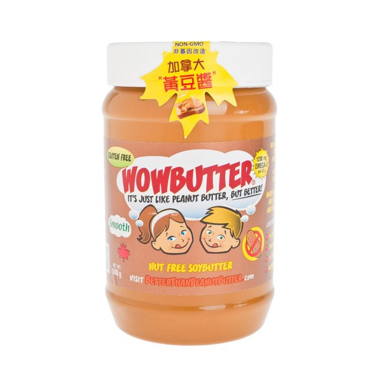 WOWBUTTER - SOY BUTTER-SMOOTH - 500G