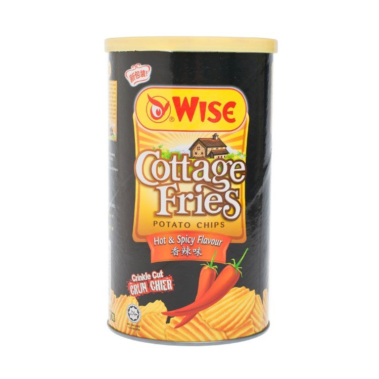 WISE - POTATO CHIPS-SPICY - 100G
