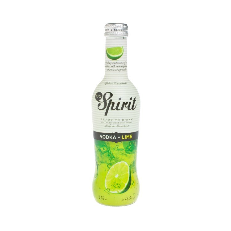 MG SPIRIT - SPIRIT COCKTAILS-LIME - 275ML