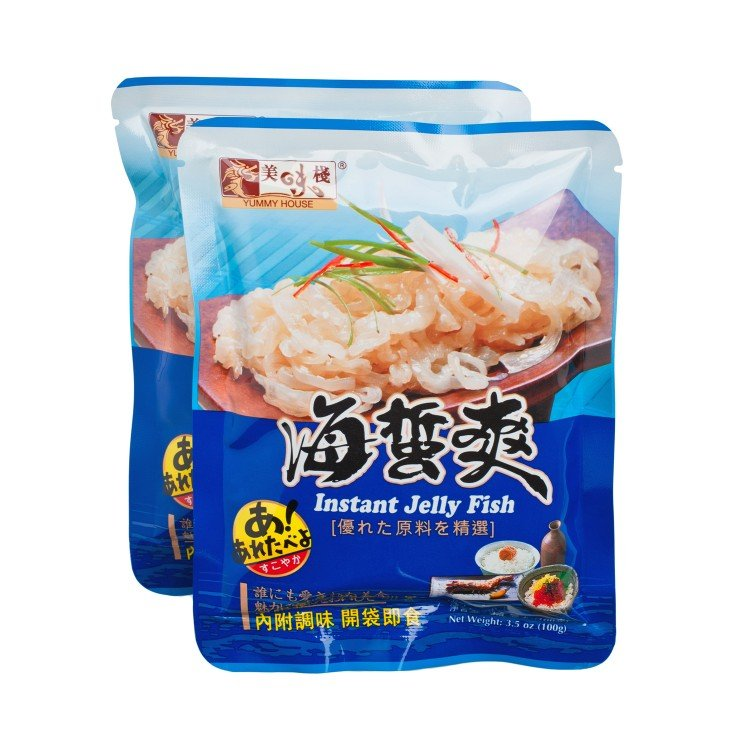 YUMMY HOUSE - INSTANT JELLY FISH - 100GX2