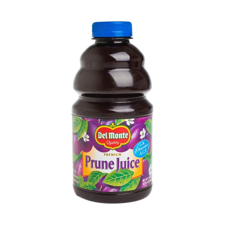 DEL MONTE - PRUNE JUICE-WITH VITAMIN A, C, E - 32OZ