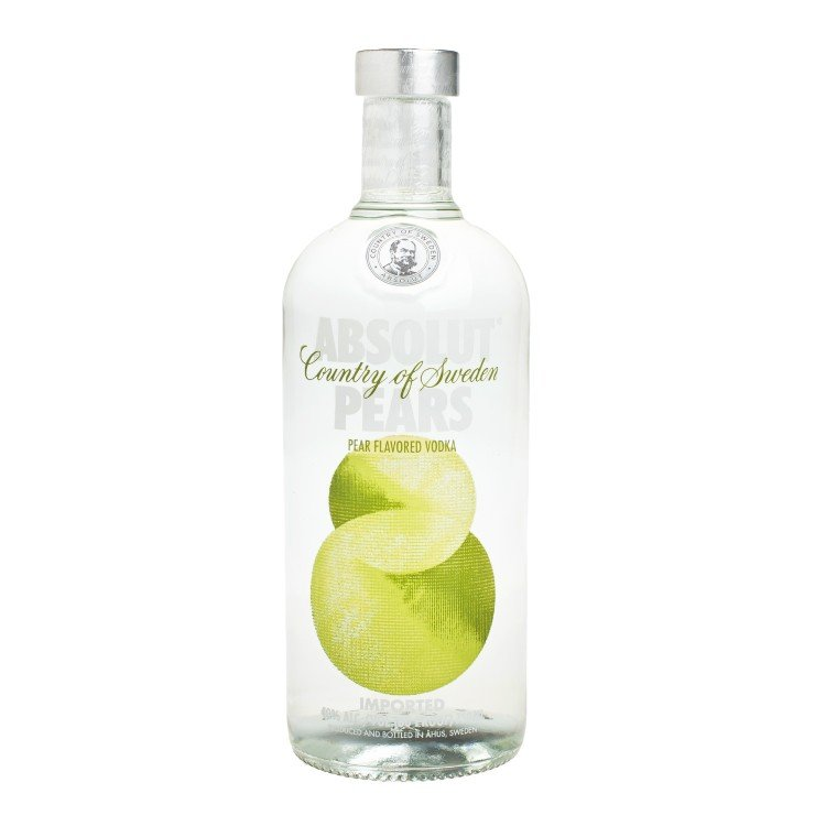 ABSOLUT  - VODKA-PEARS - 75CL