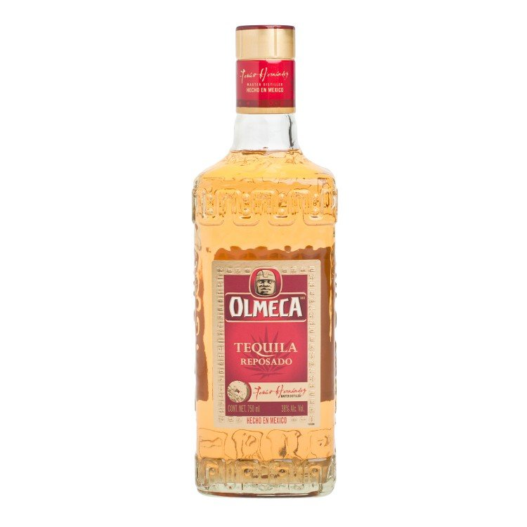 OLMECA - TEQUILA GOLD - 75CL