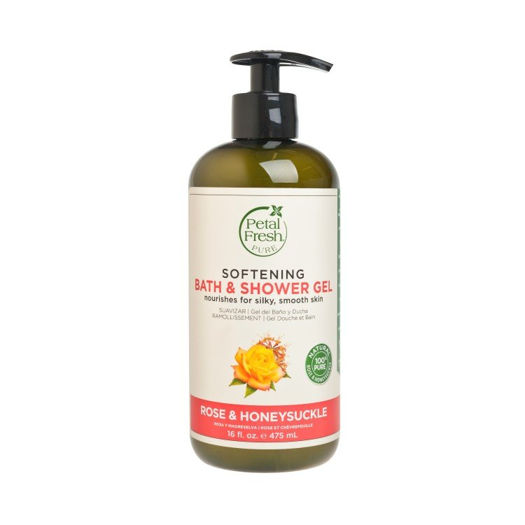 PETAL FRESH - ROSE & HONEYSUCKLE BATH & SHOWER GEL - 475ML