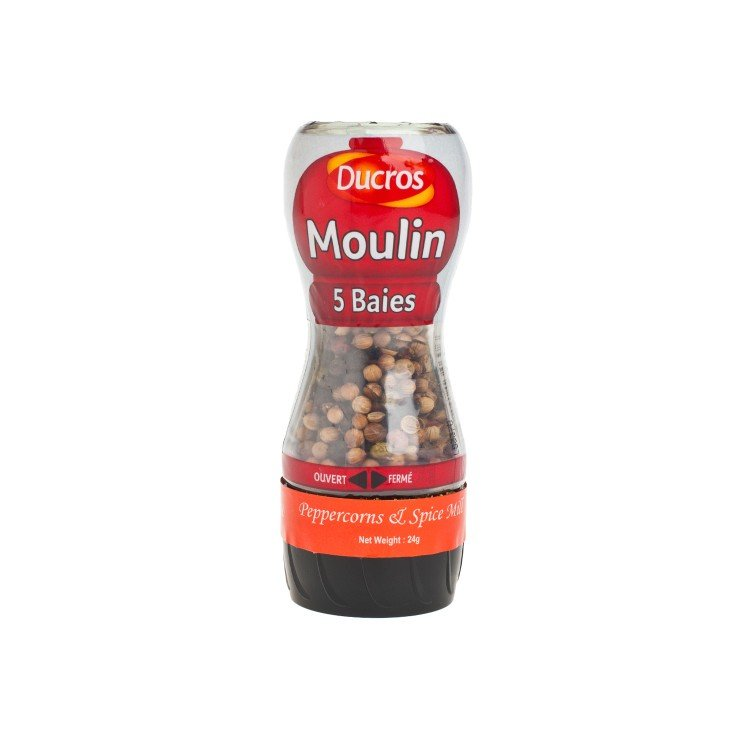 DUCROS - PEPPERCORNS & SPICE MILL - 24G