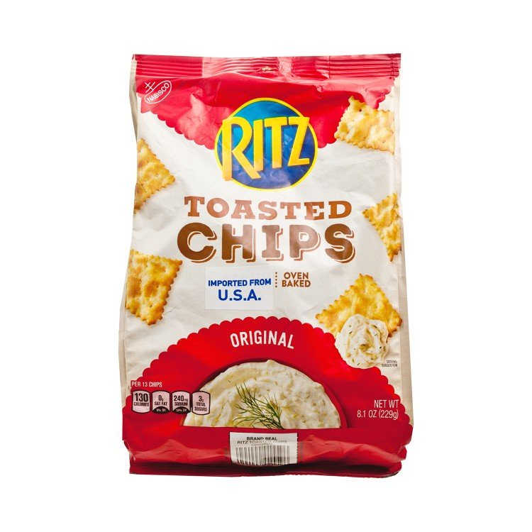 RITZ - TOASTED CHIPS-ORIGINAL - 229G