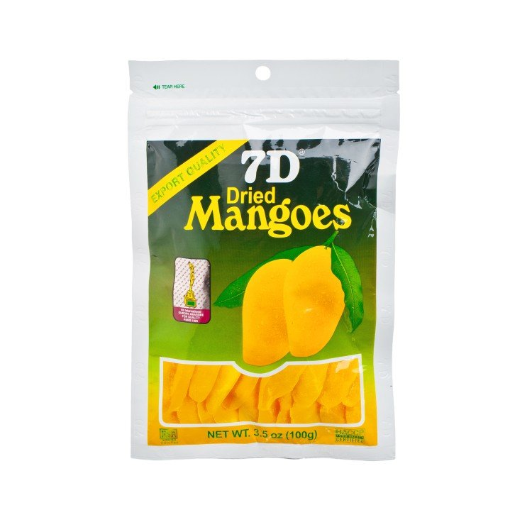 7D - DRIED MANGOES - 100G