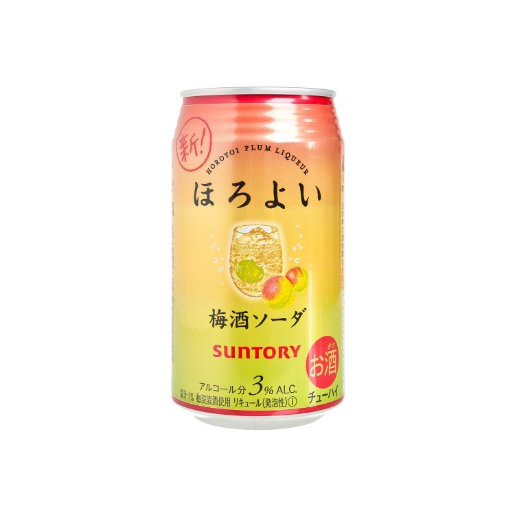 SUNTORY - PLUM WINE SODA - 350ML