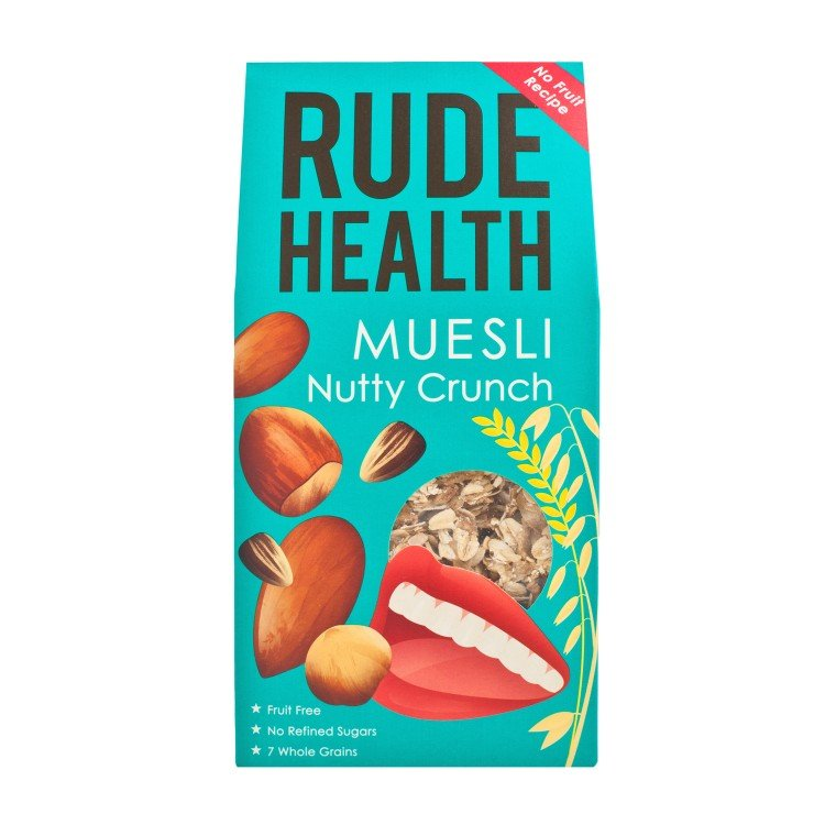 RUDE HEALTH - NUTTY CRUNCH MUESLI - 450G