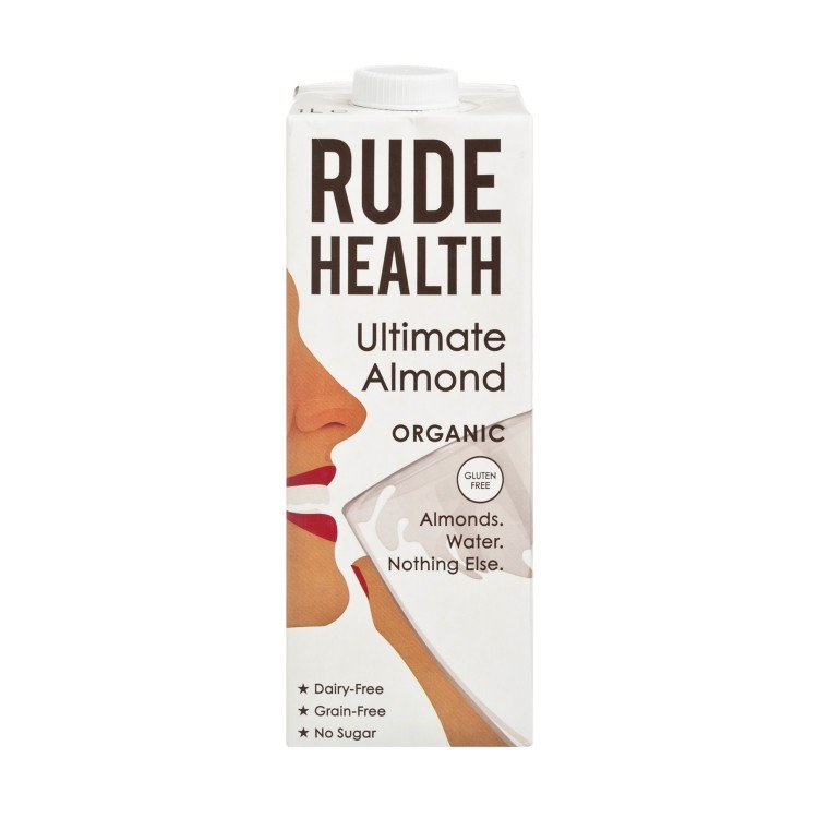 RUDE HEALTH (PARALLEL IMPORT) - ORGANIC ULTIMATE ALMOND DRINK - 1L