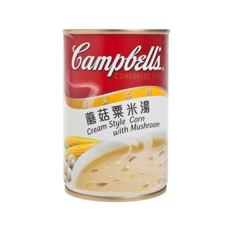 CAMPBELL'S - CREAM STYLE CORN WITH MUSHROOM - 305G