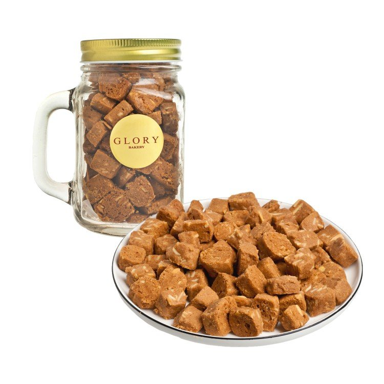 GLORY BAKERY - COOKIES IN JAR-COFFEE ALMOND - 200G
