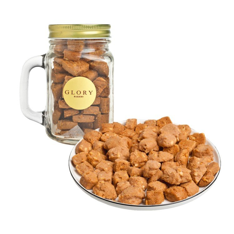 GLORY BAKERY - COOKIES IN JAR-OVALTINE ALMOND - 200G