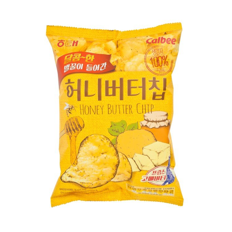 HAITAI - HONEY BUTTER POTATO CHIPS - 60G