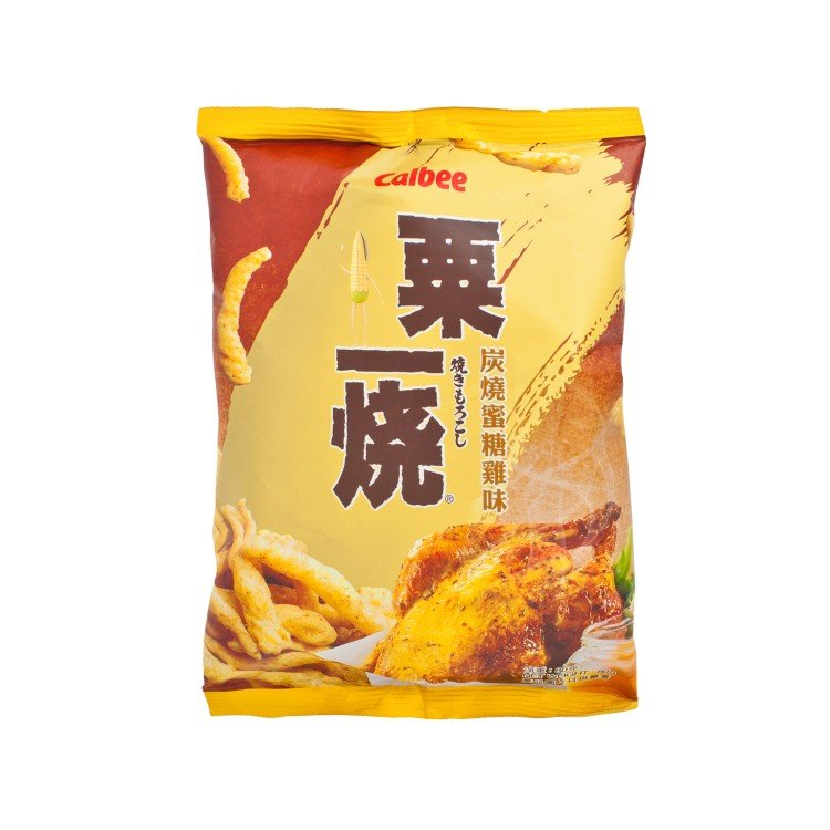 CALBEE - GRILL-A-CORN-ROASTED HONEY CHICKENFLAVOURED  - 80G