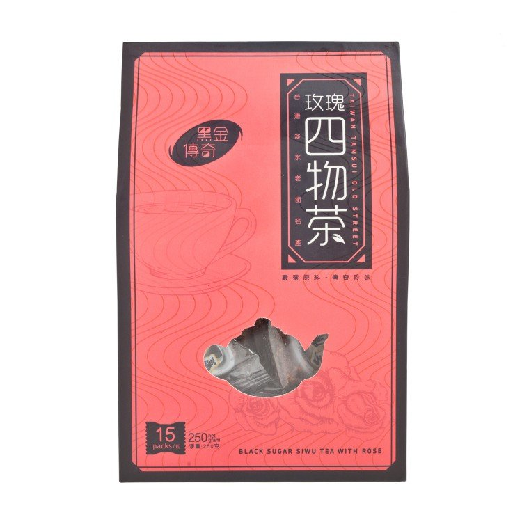 HAND MADE TASTE - SIWU TEA WITH ROSE - 15'S