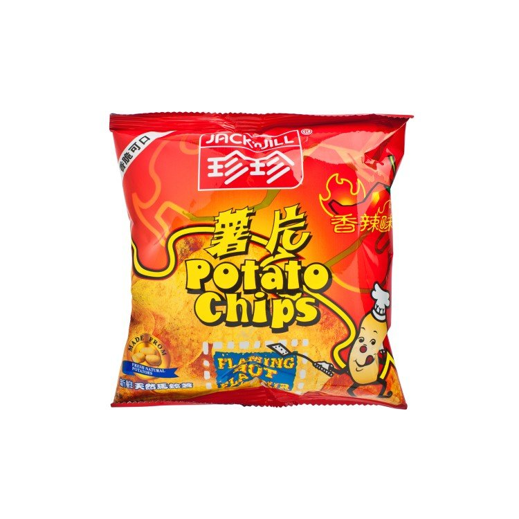 JACK'N JILL - POTATO CHIPS-SPICY FLAVOUR - 20G