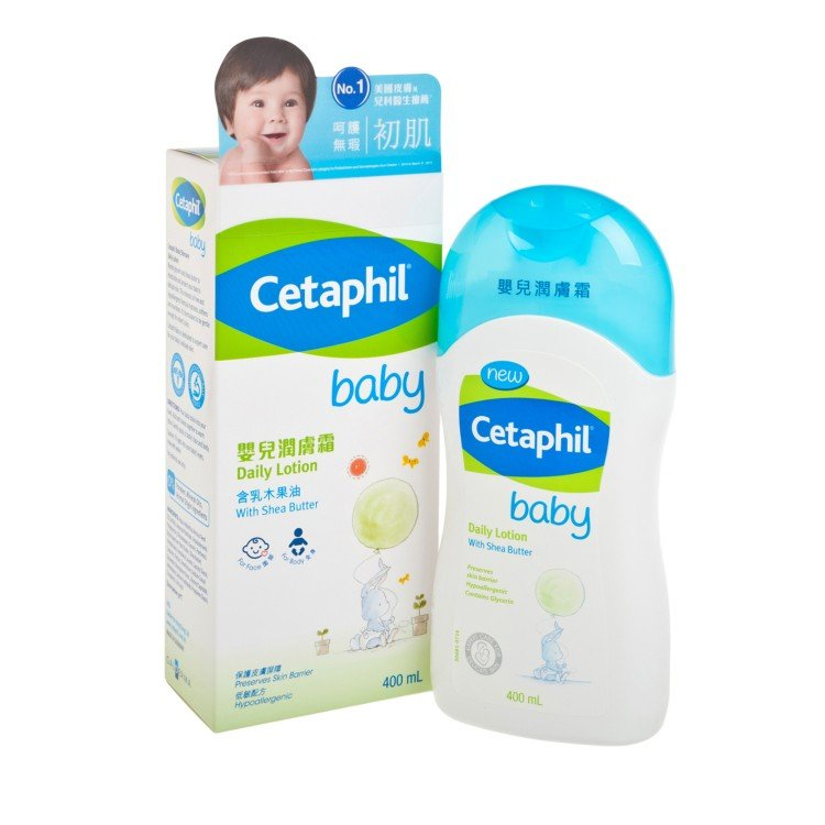 CETAPHIL - BABY DAILY LOTION - 400ML