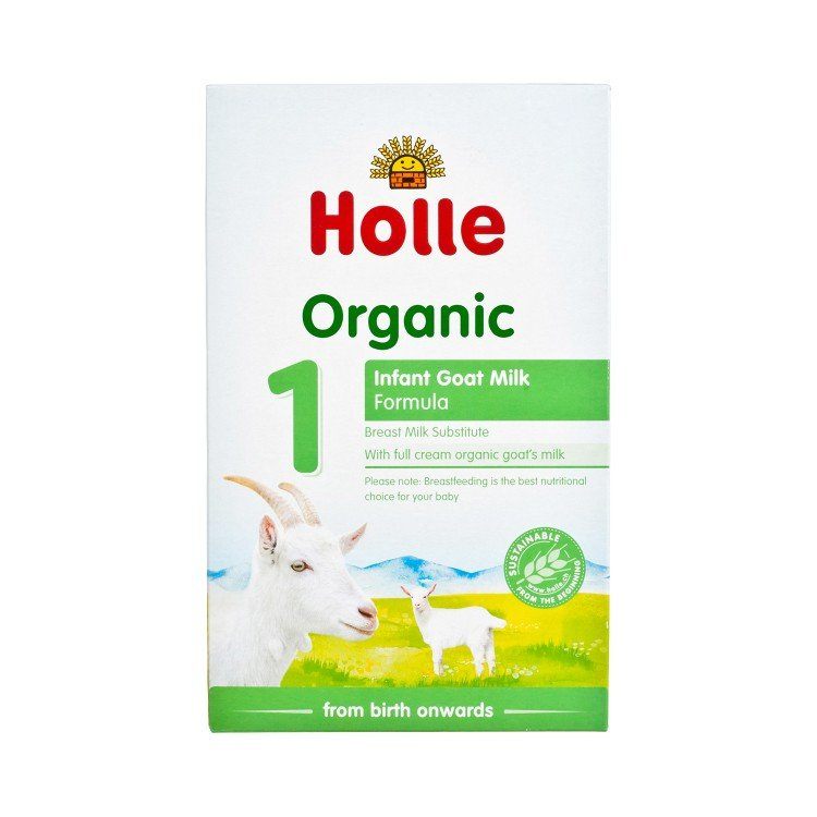 HOLLE - ORGANIC INFANT GOAT MILK FORMULA 1 - 400G