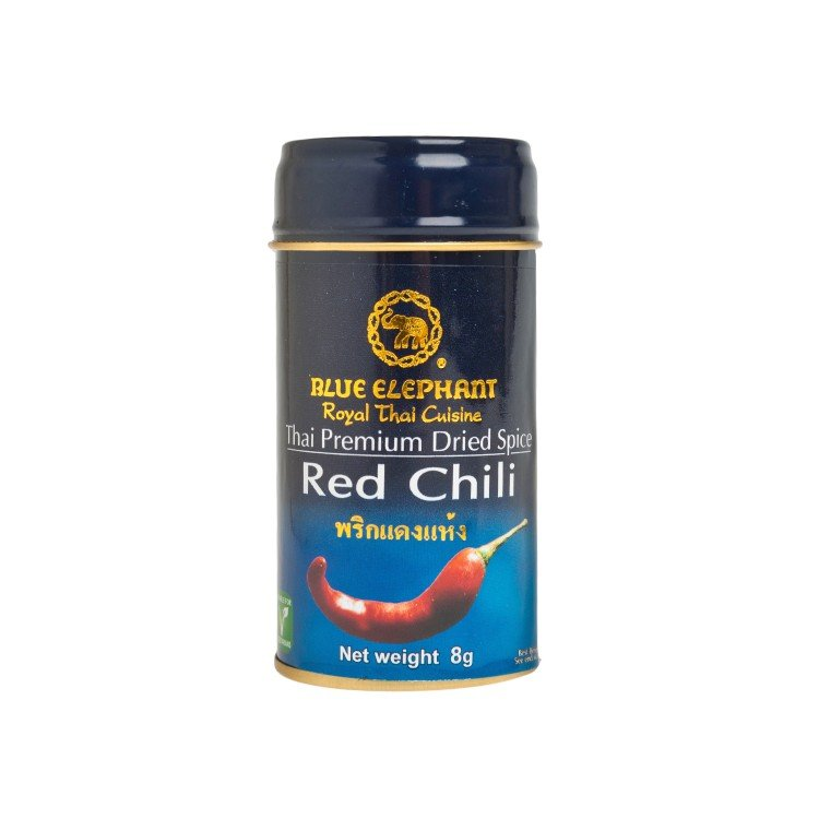 BLUE ELEPHANT - DRIED RED CHILI - 8G
