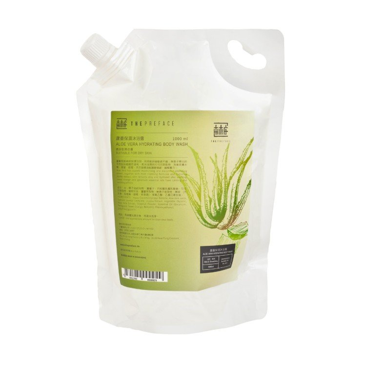 THE PREFACE - ALOE VERA HYDRATING BODY WASH(FAMILY PACK) - 1L