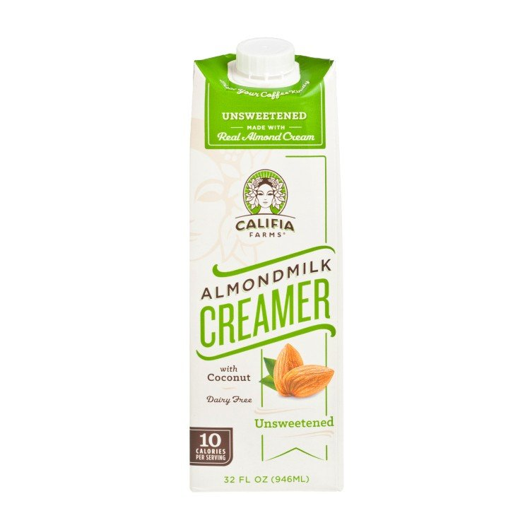 CALIFIA FARMS - ALMOND MILK CREAMER-UNSWEETENED - 32OZ
