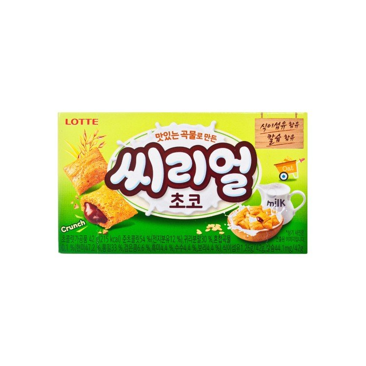LOTTE - CEREAL CHOCOLATE BISCUIT - 42G