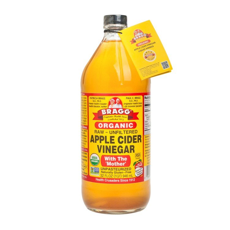 BRAGG(PARALLEL IMPORT) - APPLE CIDER VINEGAR - 32OZ