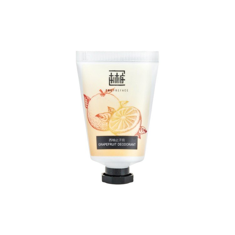 THE PREFACE - NATURAL GRAPEFRUIT DEODORANT - 30G