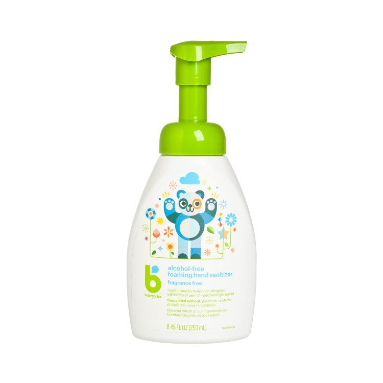 BABYGANICS(PARALLEL IMPORT) - HAND SANITIZER(TABLE-TOP)-FRAGRANCE FREE - 250ML