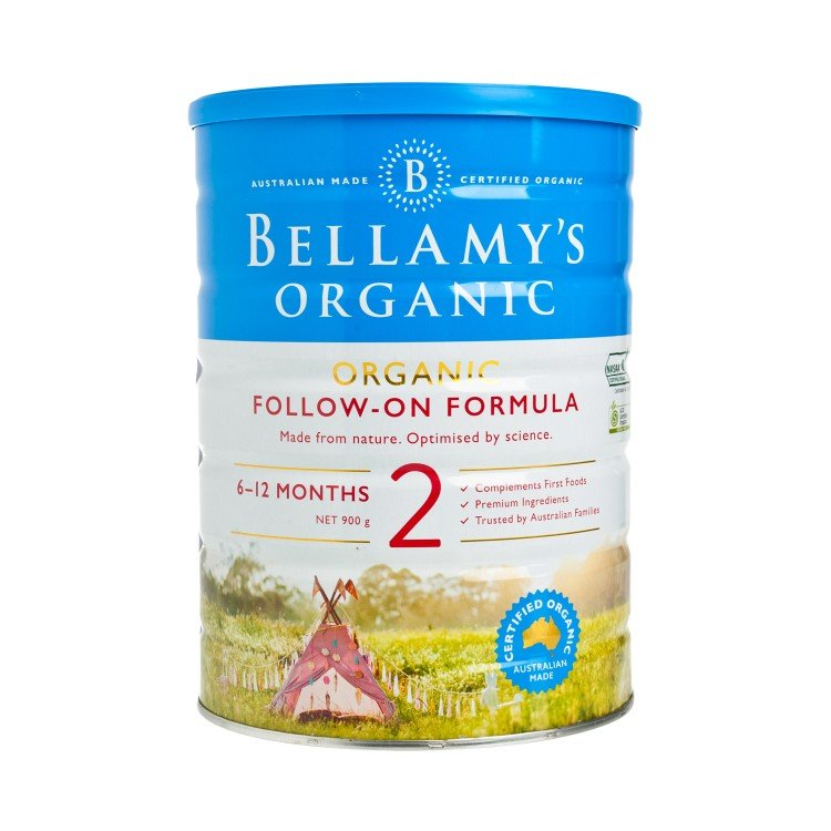 BELLAMY'S ORGANIC - STEP 2 FOLLOW-ON FORMULA - 900G