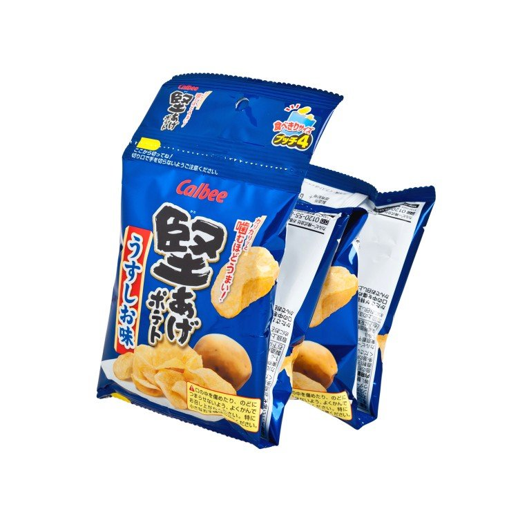 CALBEE - POTATO CHIPS-SALTED FLAVOUR - 60G