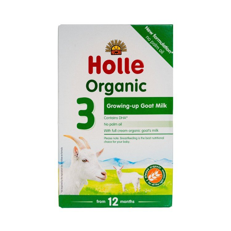 HOLLE - ORGANIC INFANT GOAT MILK FOLLOW-ON FORMULA 3 - 400G