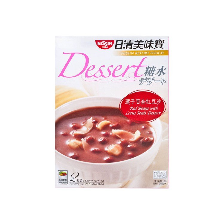 NISSIN - RETORT POUCH - RED BEANS - 220GX2