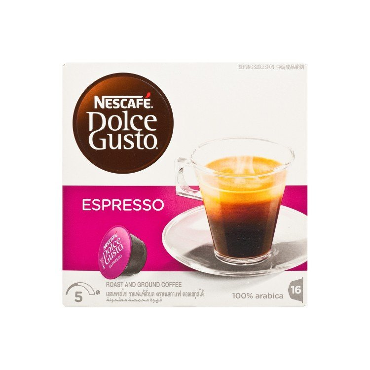 NESCAFE DOLCE GUSTO - 意式濃縮咖啡 - 16'S