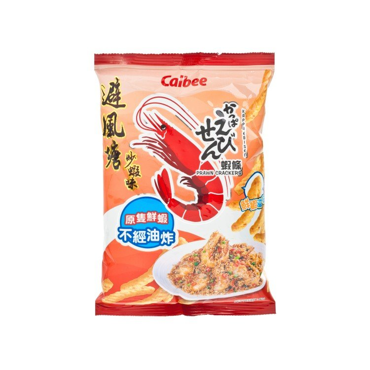 CALBEE - PRAWN CRACKERS-YPHOON SHELTER STYLEFRIED PRAWN - 40G
