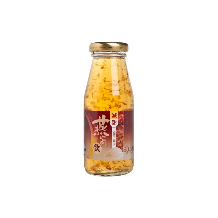 IMPERIAL BIRD'S NEST - BIRD'S NEST DRINK WITH RED DATES AND LONGAN - 180G