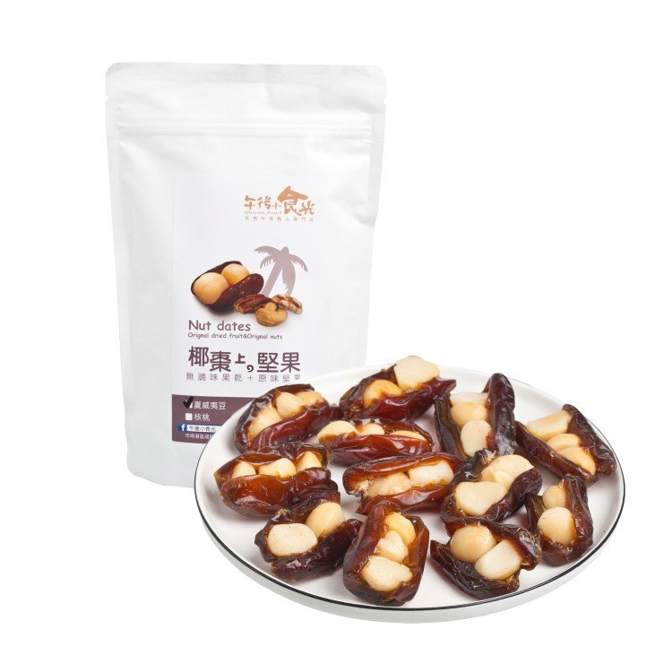 AFTERNOON DESSERT - DATE PALM WITH MACADAMIA - 160G