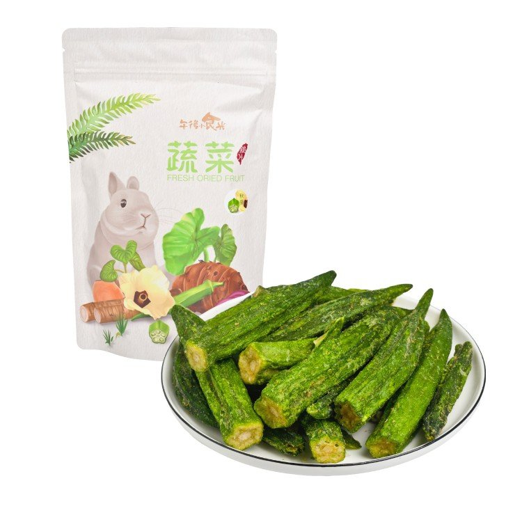 AFTERNOON DESSERT - OKRA CHIPS - 80G