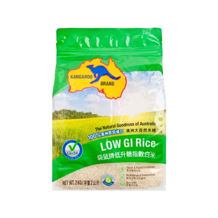 KANGAROO - LOW GI RICE - 2KG