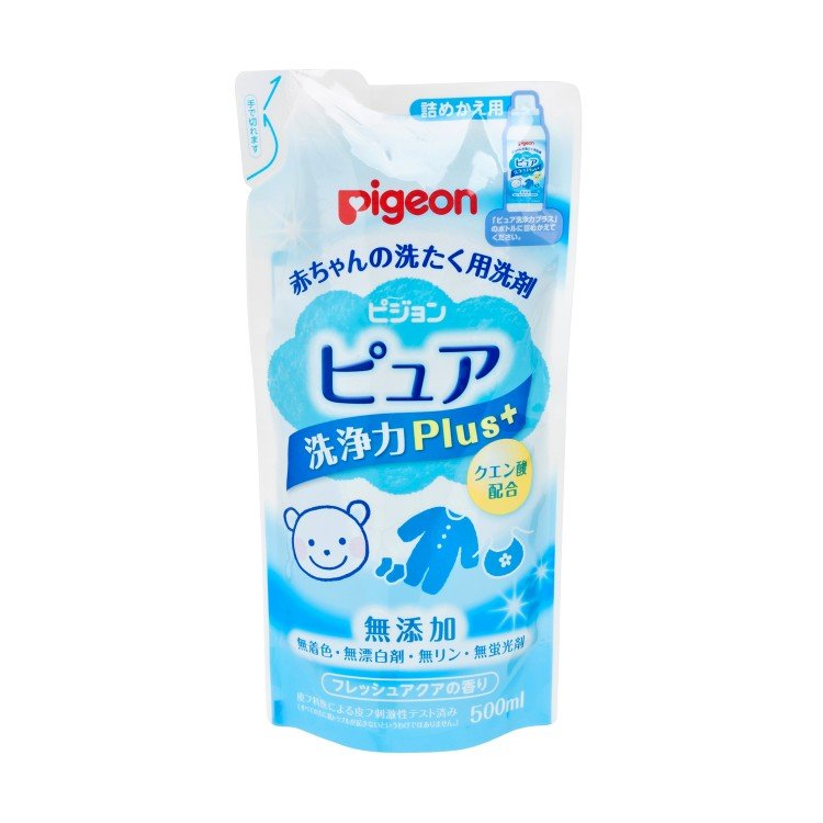 PIGEON - BABY LAUNDRY DETERGENT (REFILL)-PURE PLUS+ - 500ML