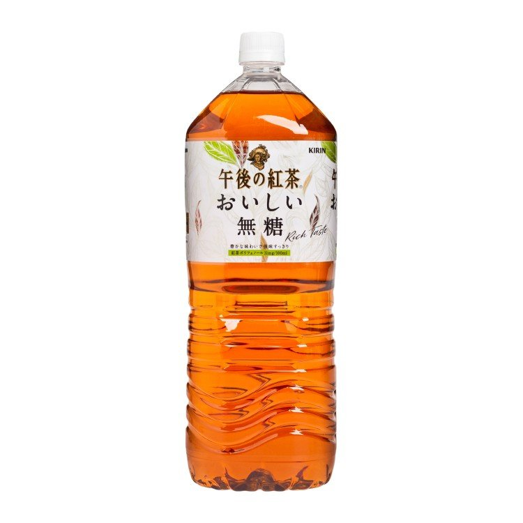 KIRIN - AFTERNOON TEA - SUGAR FREE BLACK TEA - 2L